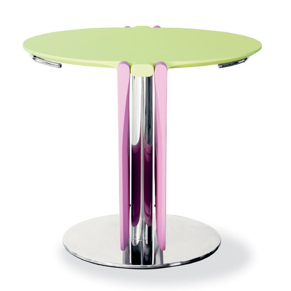 Bonaldo - Karim Rashid - Flap Leaf Table Green Pink