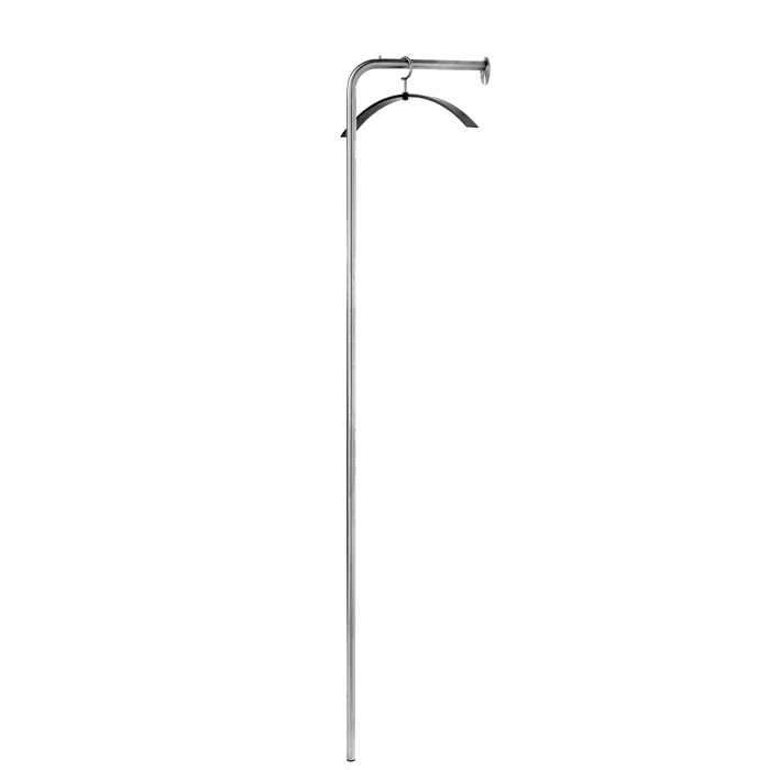 &Tradition - Stand Hanger Stand - Brushed Stainless Steel
