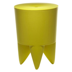 XO - Philippe Starck - Bubu 1er Stool/Container - Absinth Solid Colour