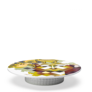 Bjorn Wiinblad Gobelin Serving Dish Multicolour