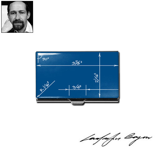 Acme studio blueprint business card case panik design acme studio blueprint business card case malvernweather Images