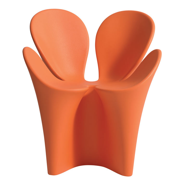 Driade - Ron Arad - Clover Chair Orange