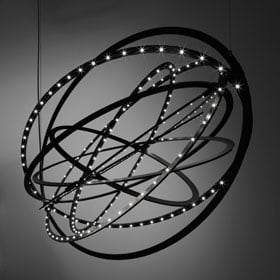 Artemide - Copernico Suspension Light - Black