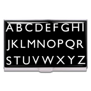 ACME Studio - Alphabet Business Card Case