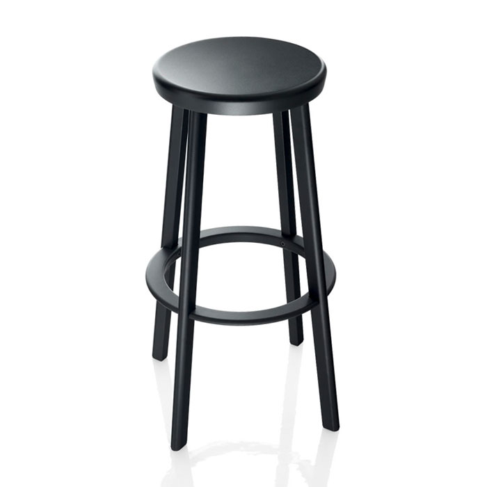 Magis Deja Vu High Bar Stool Black Panik Design