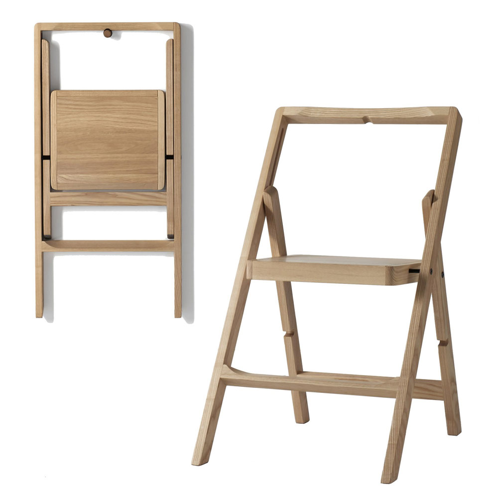 Design House Stockholm - Step Mini Folding Step Ladder Oak