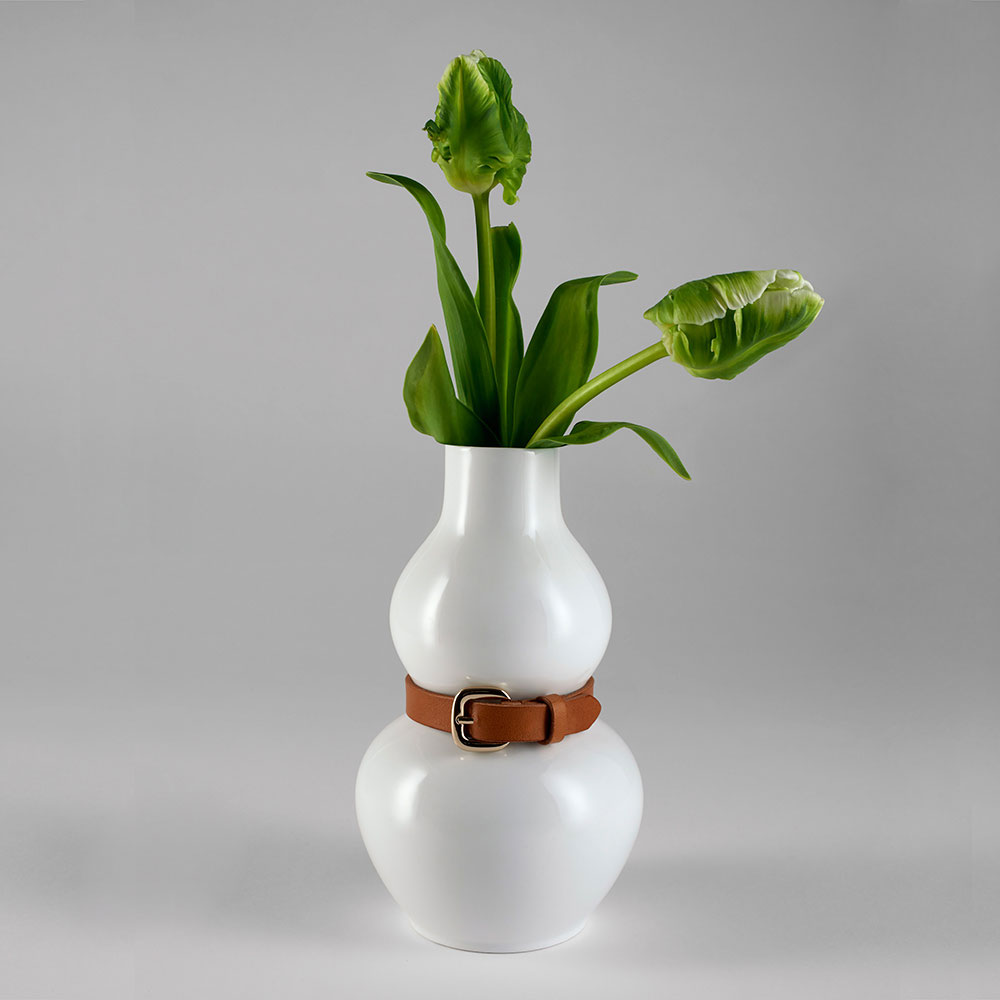Design House Stockholm - Alba Vase White