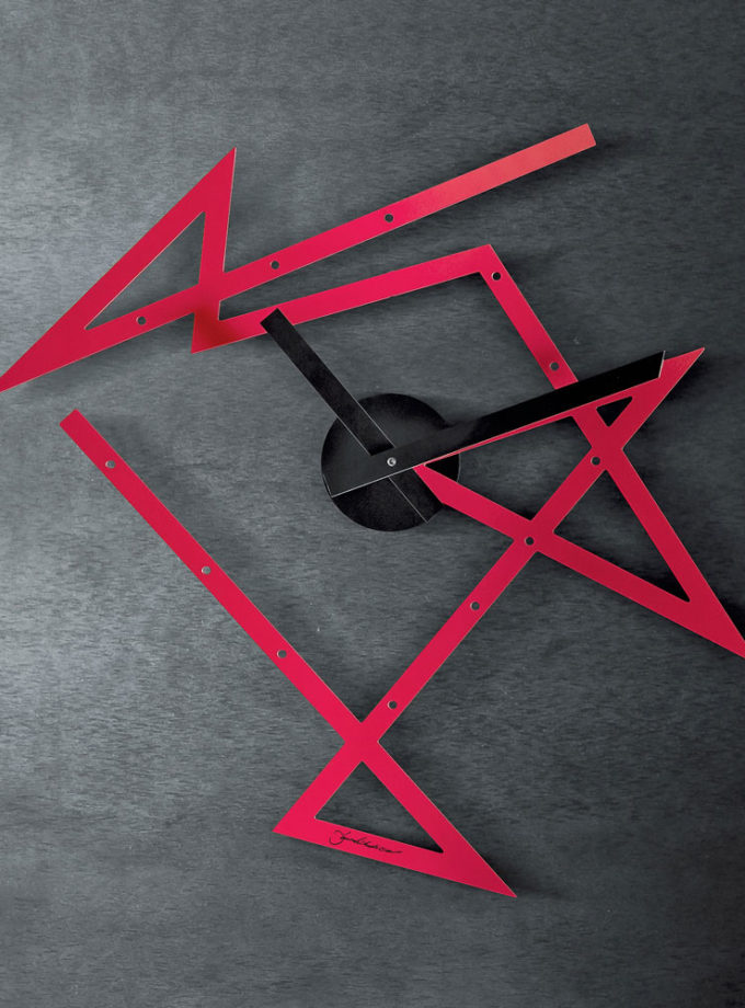 Alessi - Time Maze Wall Clock