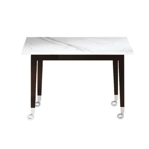 Driade - Philippe Starck - Square Neoz Dining Table Ebonized Mahogany