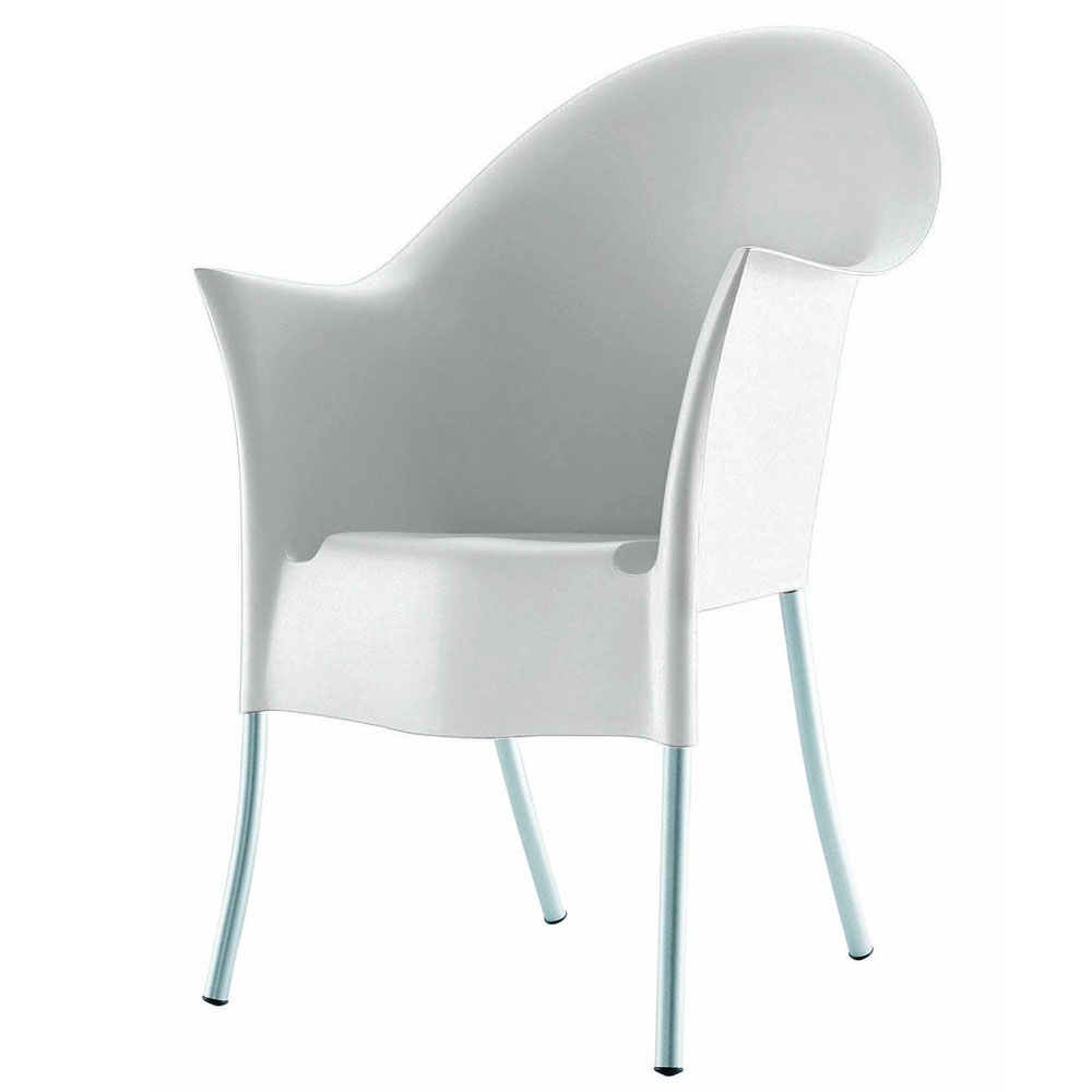 driade philippe starck lord yo chair 4pcs set white. Black Bedroom Furniture Sets. Home Design Ideas