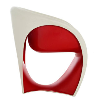 Driade - Ron Arad - MT1 Armchair Sand White Red