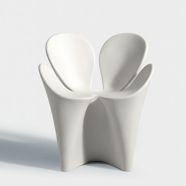 Driade - Clover Chair - White