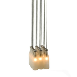 Droog - Milk Bottle Suspension Light 12pcs
