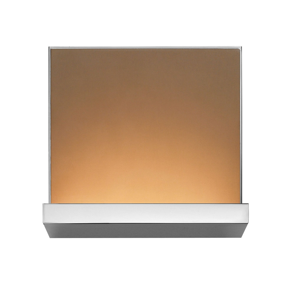 Flos - Hide S Frieze Plate - Anodised Bronze