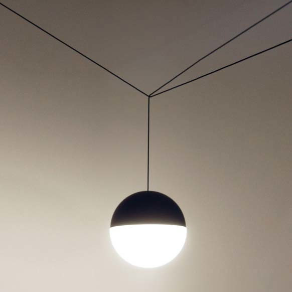 String Lights In Office: Flos - String Light - Sphere 12 M Cable