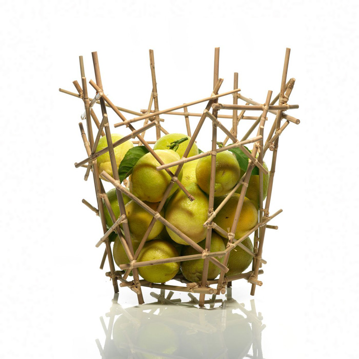 Alessi - Blow Up Bamboo Fruit Basket