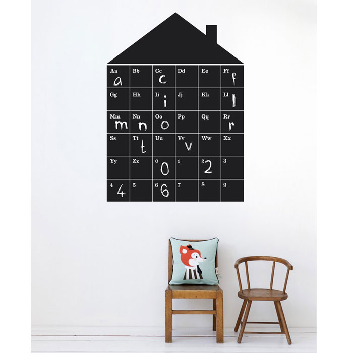 Ferm Living Kids - ABC House Wall Sticker