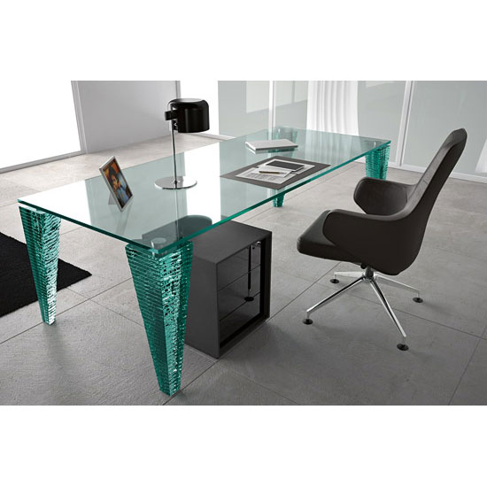 Fiam - Atlas Executive Desk 220cm