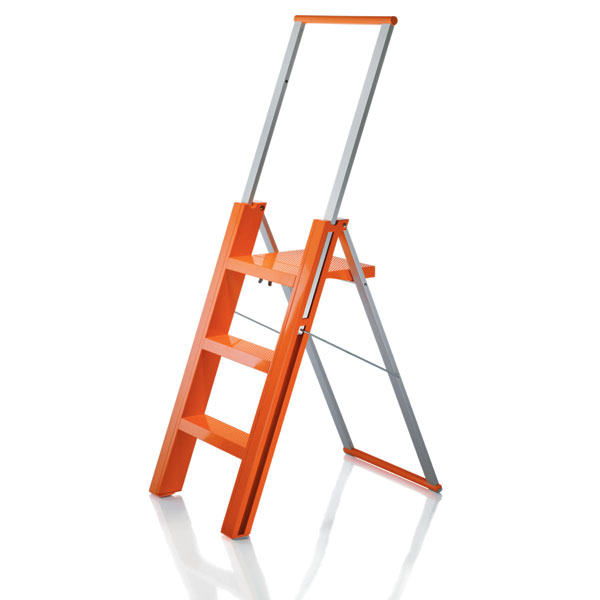 Magis Flo Folding Step Ladder Orange