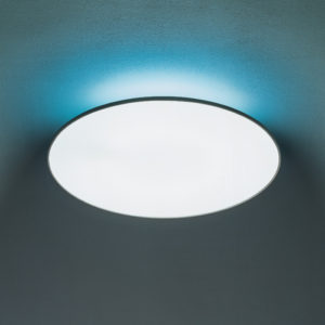 Artemide - Float Round Ceiling Light with Blue Filter