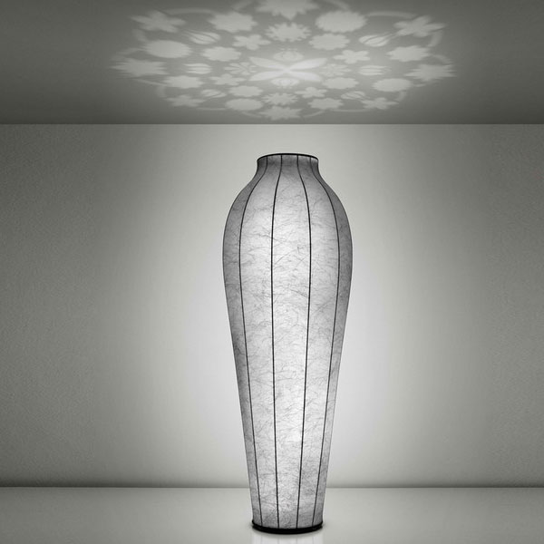 flos marcel wanders chrysalis cocoon floor light panik design