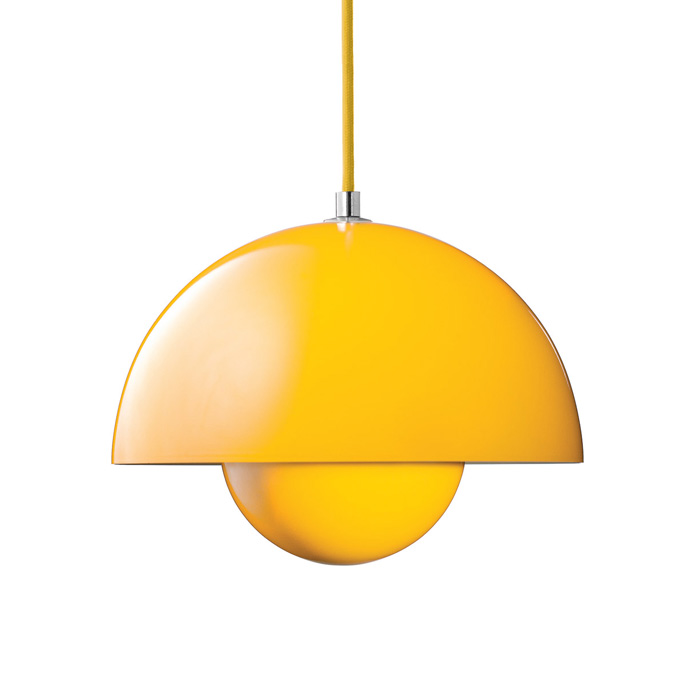 &Tradition - FlowerPot Pendant Lamp - Yellow
