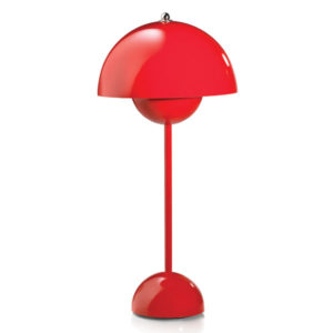 &Tradition - FlowerPot Table Lamp - Red