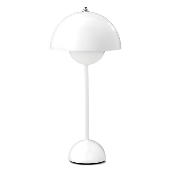 &Tradition - FlowerPot Table Lamp - White