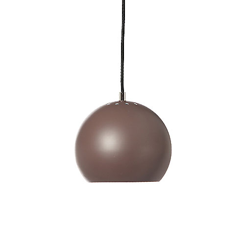 Frandsen Ball Pendant Light Matt Peppercorn