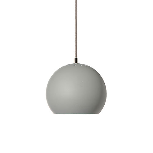Frandsen Ball Pendant Light Matt Light Grey