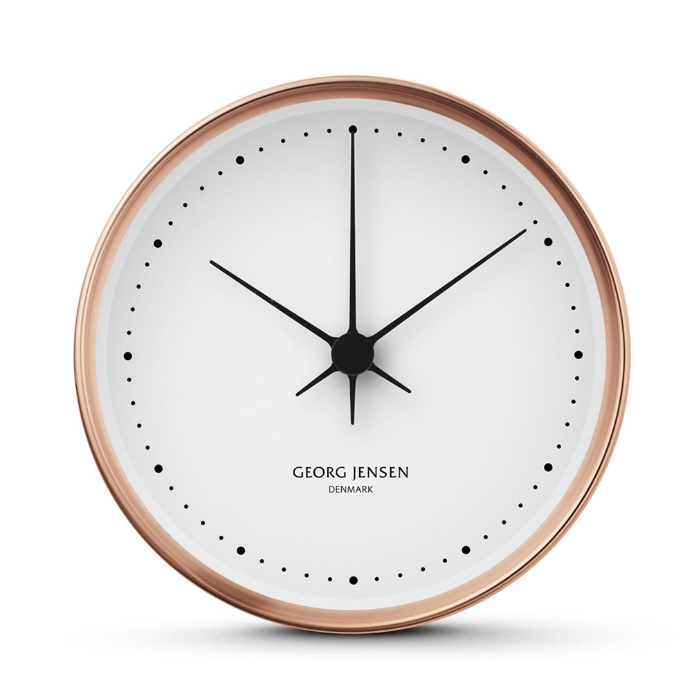 Georg Jensen - Koppel Wall Clock Copper 15cm