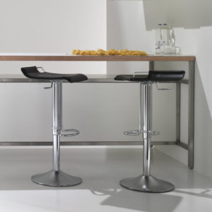 Bonaldo - Hoppy Leather Bar Stool