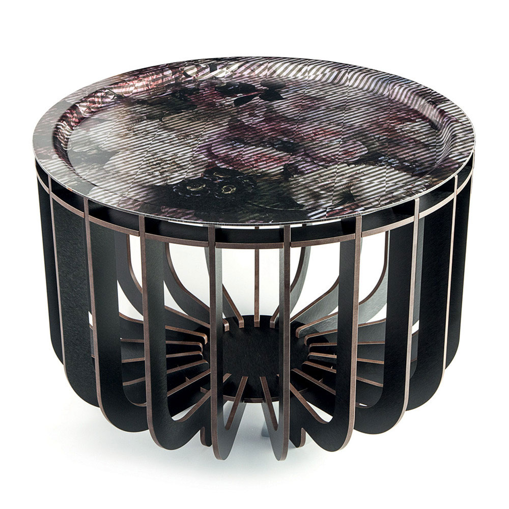 ibride - Medusa Coffee Table Black Outdoor