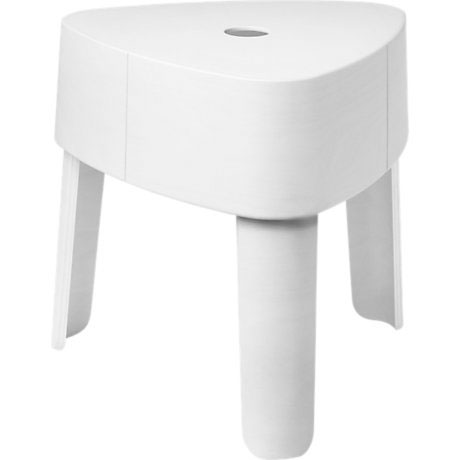 Iittala - Plektra Stackable Plywood Stool White