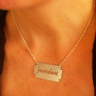 """Arash and Kelly - """"Just Do It"""" Short Necklace"""