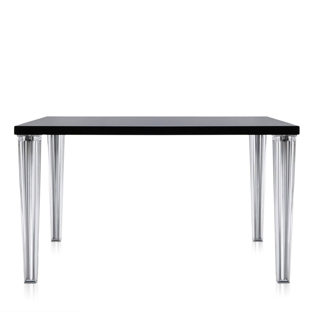 Kartell philippe starck top top square table glossy for Philippe starck dining tables