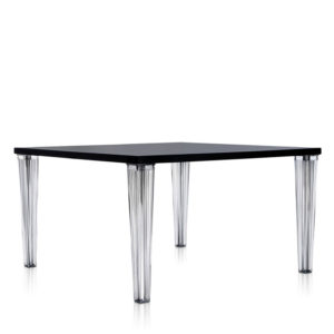 Kartell - Philippe Starck - Top Top Square Table Glossy Black