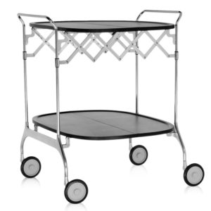Kartell - Antonio Citterio - Gastone Folding Trolley Black
