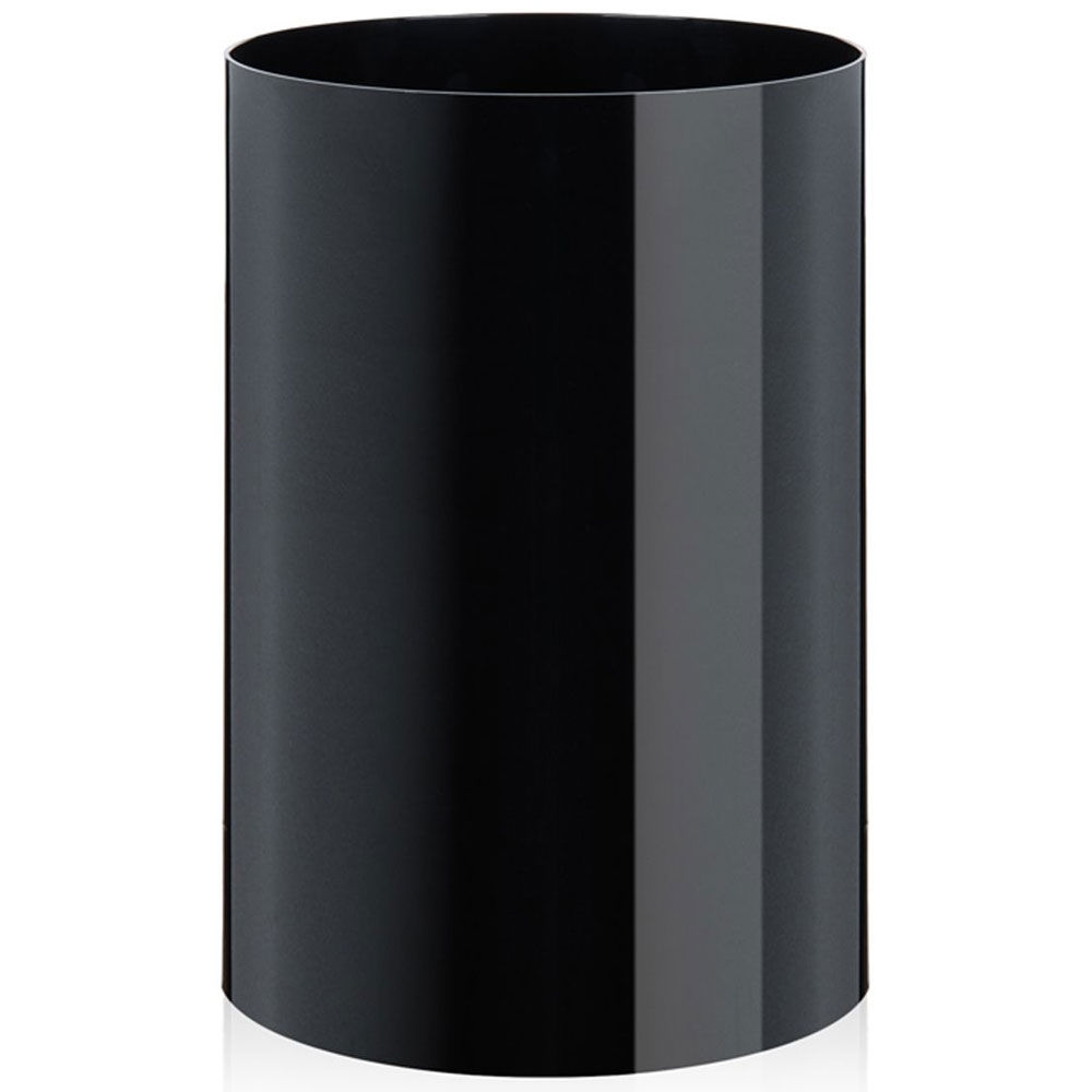Black Bedroom Waste Bin