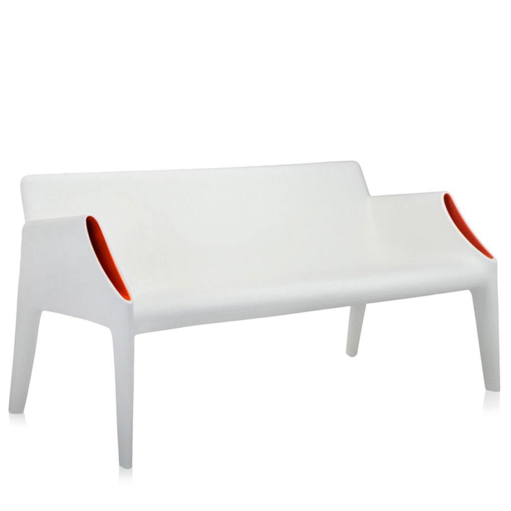 Kartell Garden Furniture Kartell philippe starck magic hole sofa white orange panik design kartell philippe starck magic hole sofa white orange workwithnaturefo