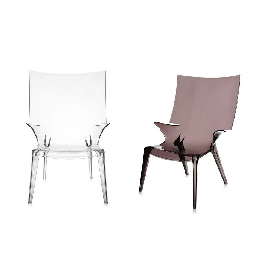 kartell philippe starck uncle jim armchair crystal. Black Bedroom Furniture Sets. Home Design Ideas