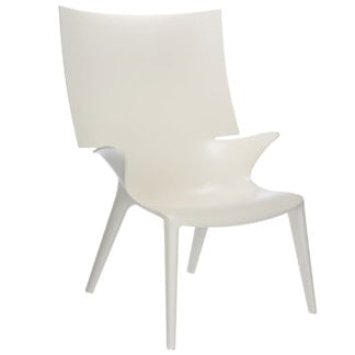 Kartell Uncle Jim Armchair White Philippe Starck