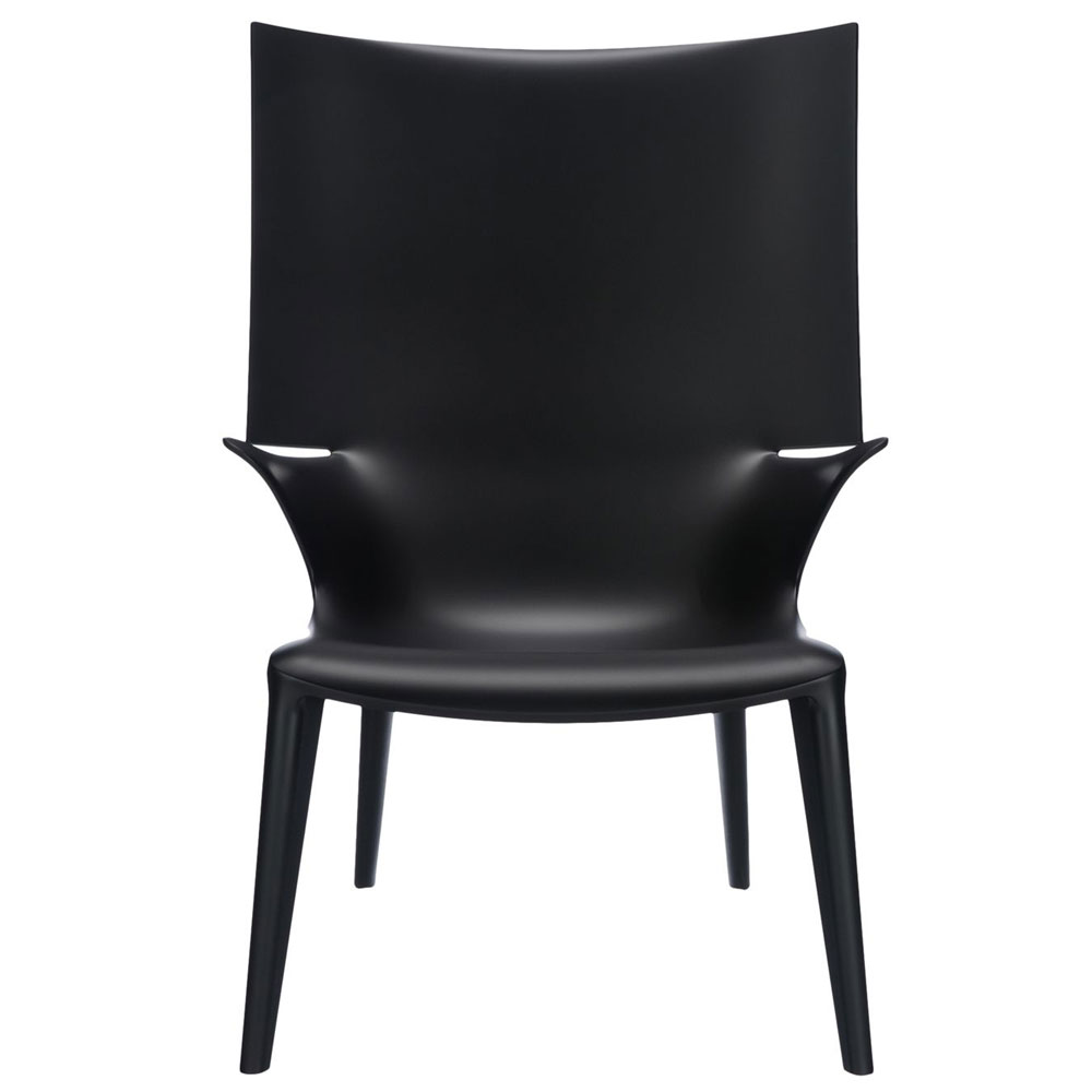 kartell philippe starck uncle jim armchair black. Black Bedroom Furniture Sets. Home Design Ideas
