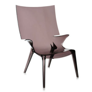 Kartell Uncle Jim Armchair Smoke Philippe Starck