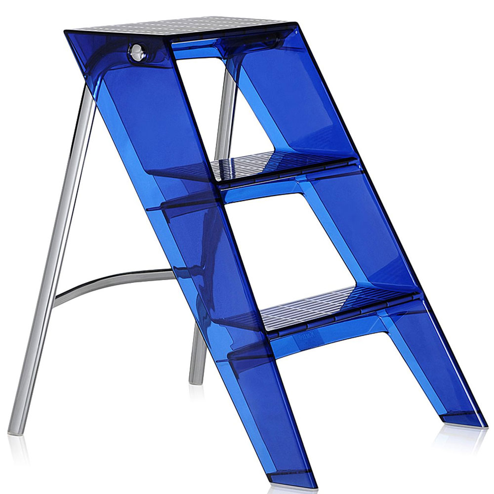 Kartell Upper Folding Step Ladder Colbalt