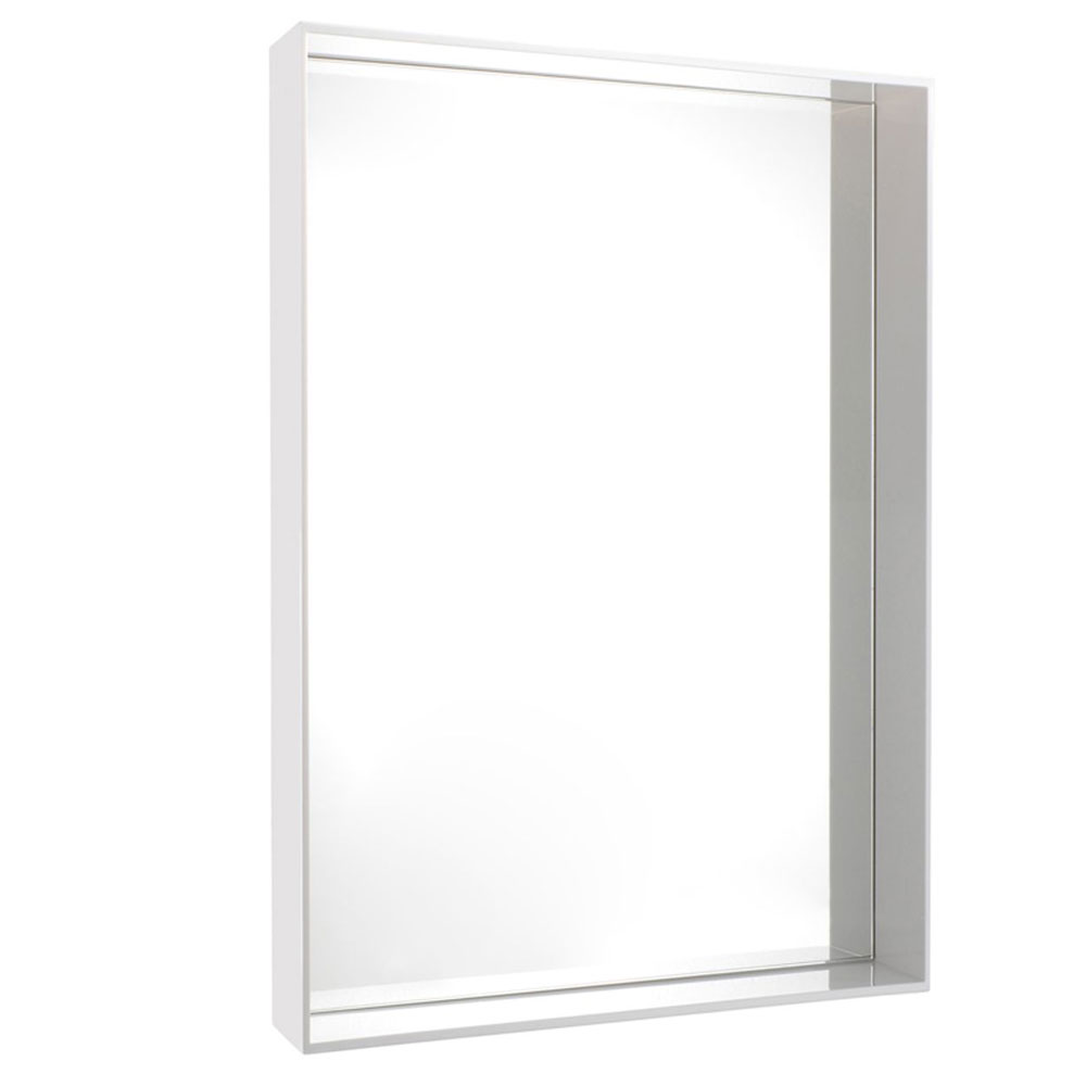 Kartell philippe starck only me mirror glossy white for Philippe starck miroir