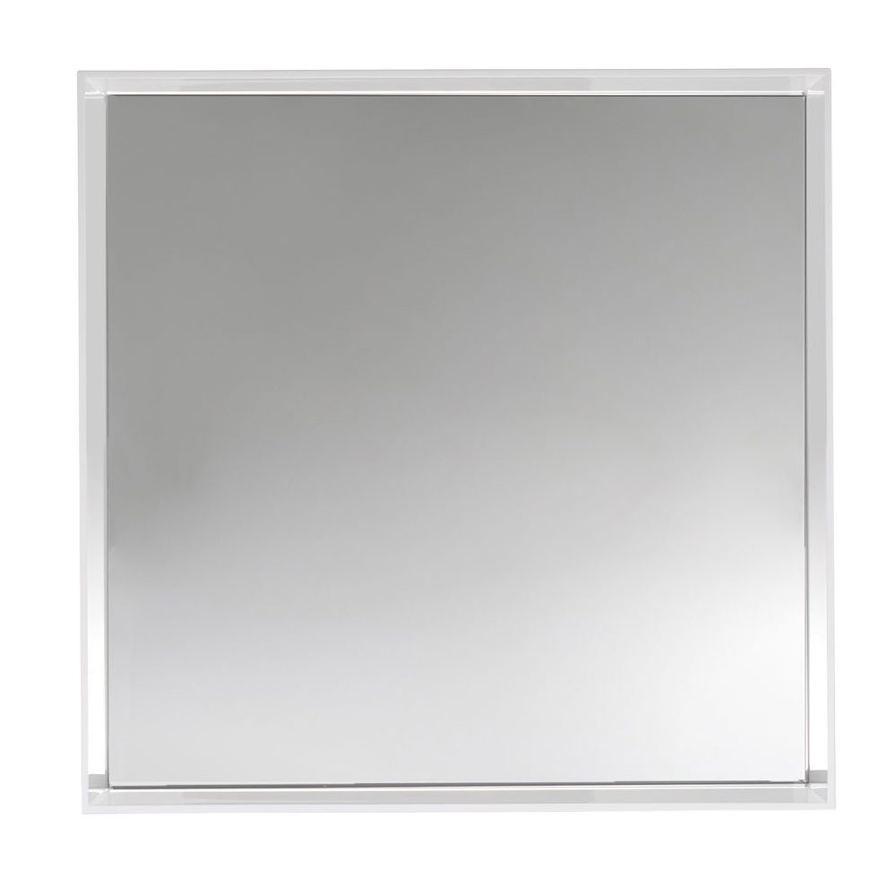 Kartell philippe starck only me square mirror glossy for Philippe starck miroir