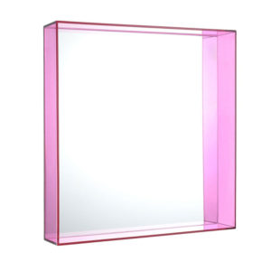 Kartell - Philippe Starck - Only Me Square Mirror Fuchsia