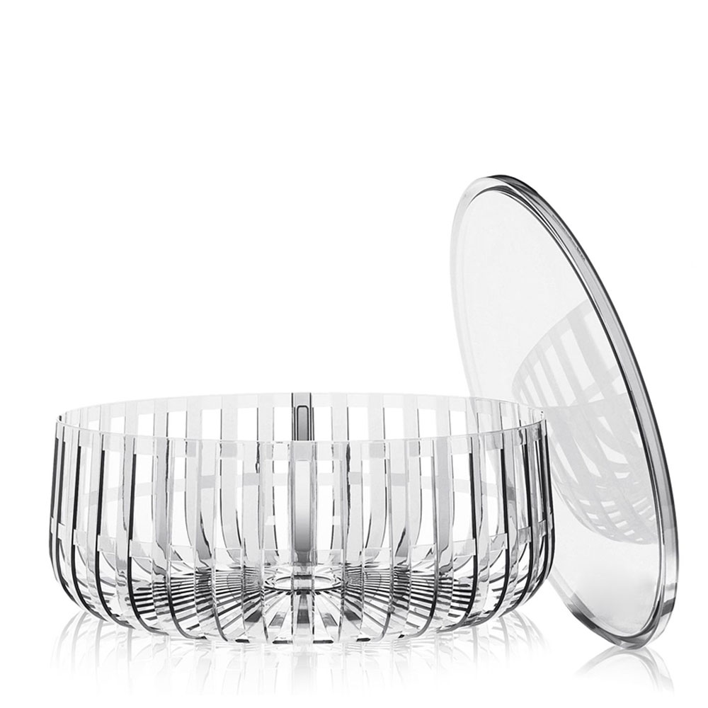 Kartell w Ronan Bouroullec Panier Container with Top Crystal