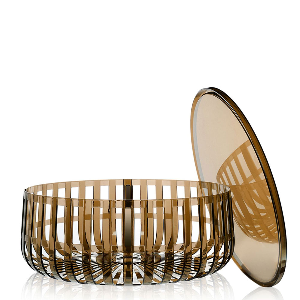 Kartell w Ronan Bouroullec Panier Container with Top Brown